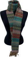 Calirawa Boho Pashmina sjaal AquaBleu