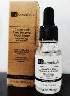Dr Botanicals Cocoa Noir Time Reverse Facial Serum.