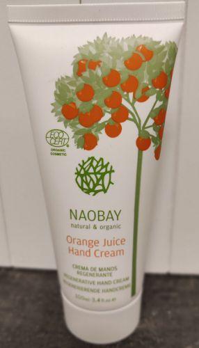 NAOBAY Orange Juice Hand Crème