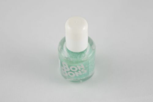 BonBons nail polish Mintgroen glitter
