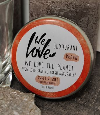 Deodorant Crème van We Love The Planet